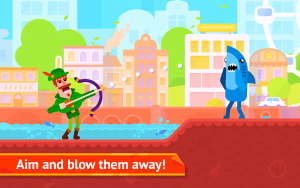 Bowmasters MOD Apk 2021 Unlimited Coins   Unlocked Character 1