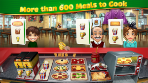 Cooking Fever Mod Apk 2021 Unlimited Gems and Free Coins 3