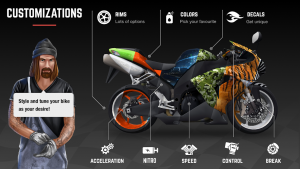 Racing Fever Moto Mod Apk 2021 – Unlimited Money | Unlock All 3
