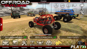 Offroad Outlaws Mod Apk 2021 – Unlimited Money/Shopping 1