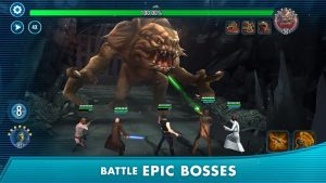 Star Wars Galaxy Of Heroes Mod Apk 2021 – Private Server/High Damage 4