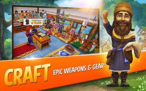 Shop Titans Mod Apk 2021 – Unlimited Money and Gems 3